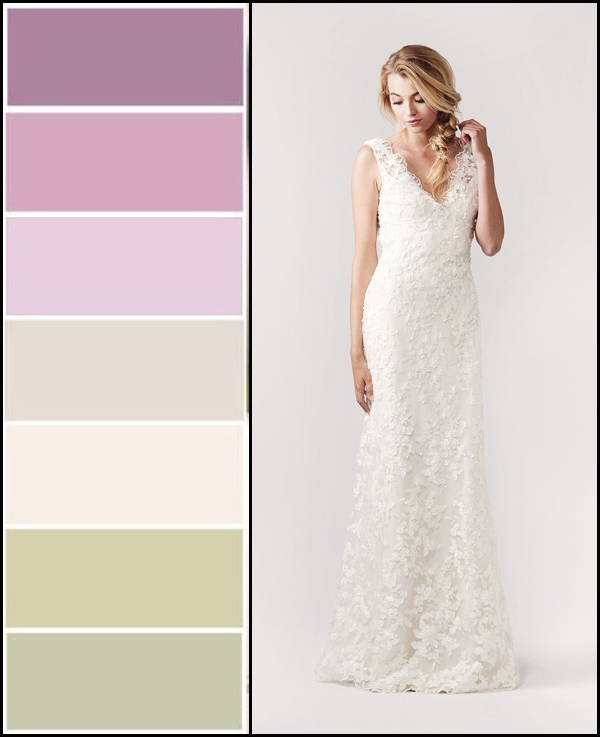 Lovely Lavender Sage Wedding Colors Bella Bleu Bridal