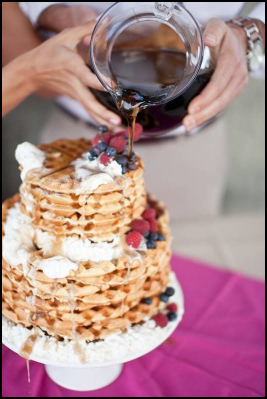 waffle wedding