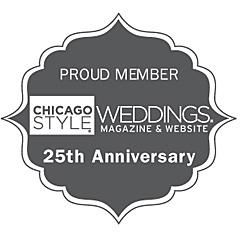 Chicago Style Weddings Magazine badge