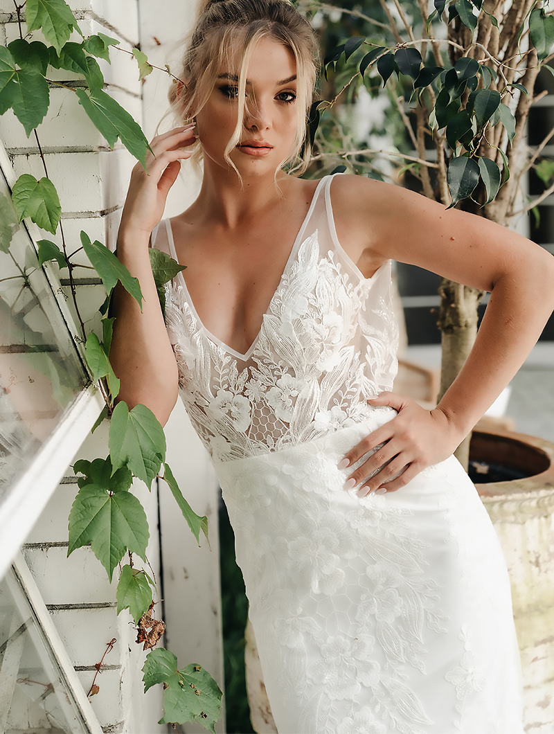 The Sally Dress by Lee Bee Bridal