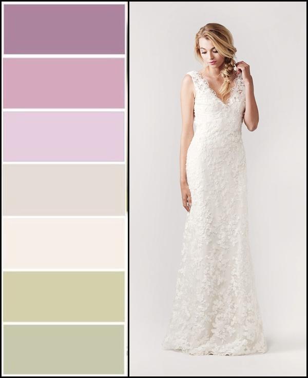 Lovely Lavender Sage Wedding Colors Bella Bleu Bridal