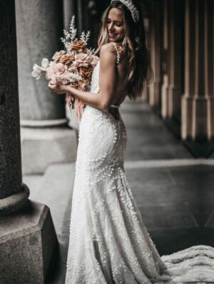 The Harlow Bridal Gown by Made With Love