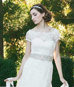 Bridal Sashas and Belts category