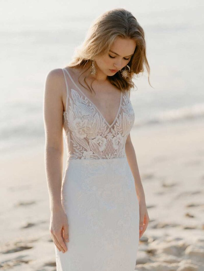 Sally Gown by Boho Bridal Design